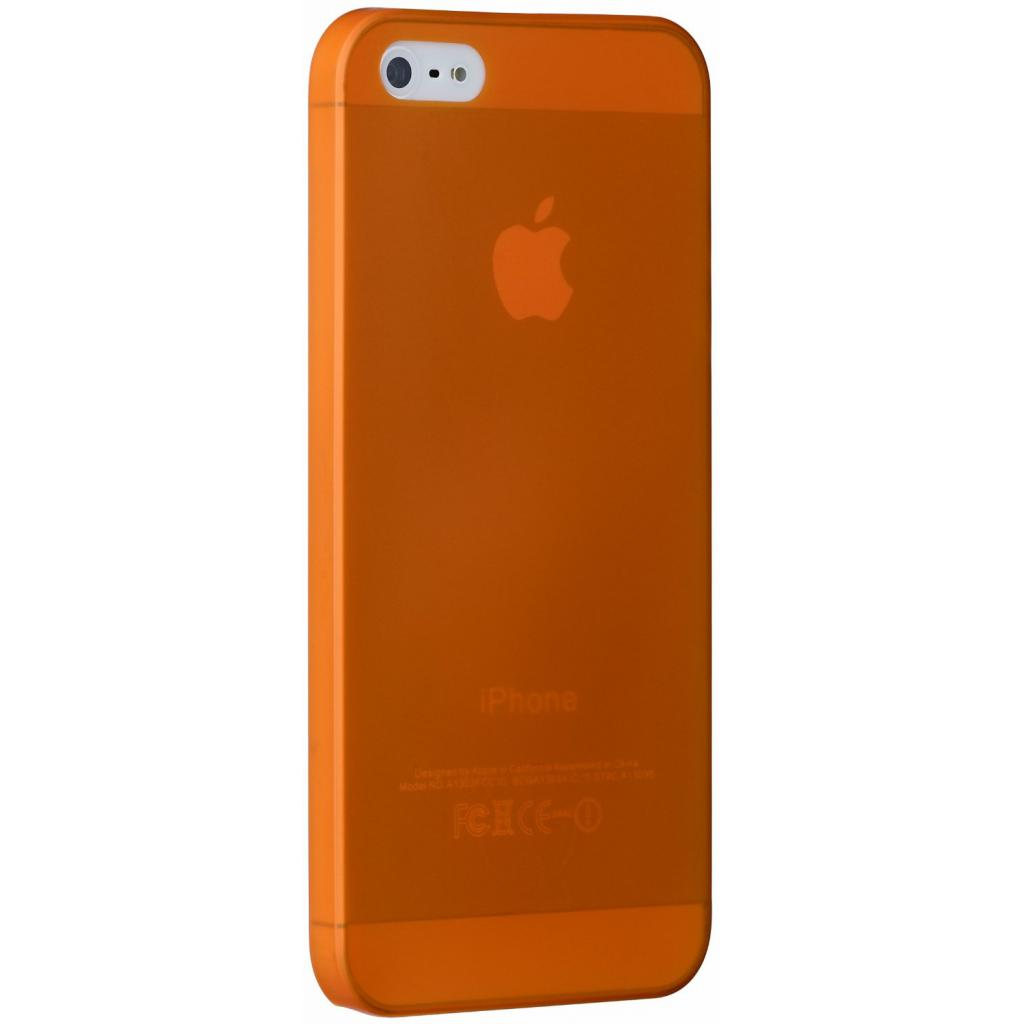 Чехол для моб. телефона OZAKI iPhone 5/5S O!coat 0.3 JELLY/Orange (OC533OG)