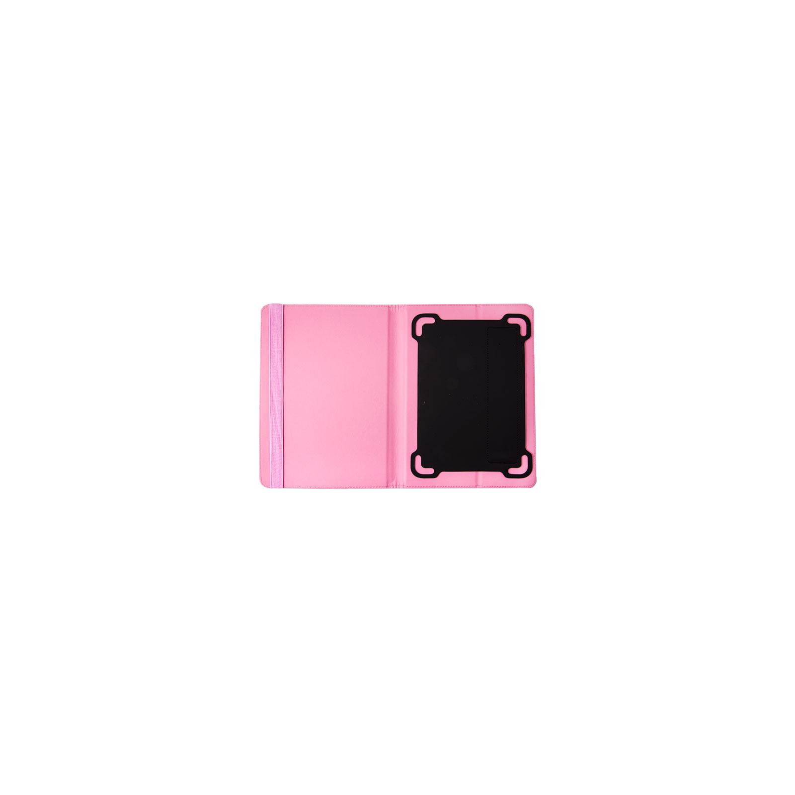 "Чехол для планшета Drobak 10-10,1"" Universal stand Pink (216872) изображение 2"