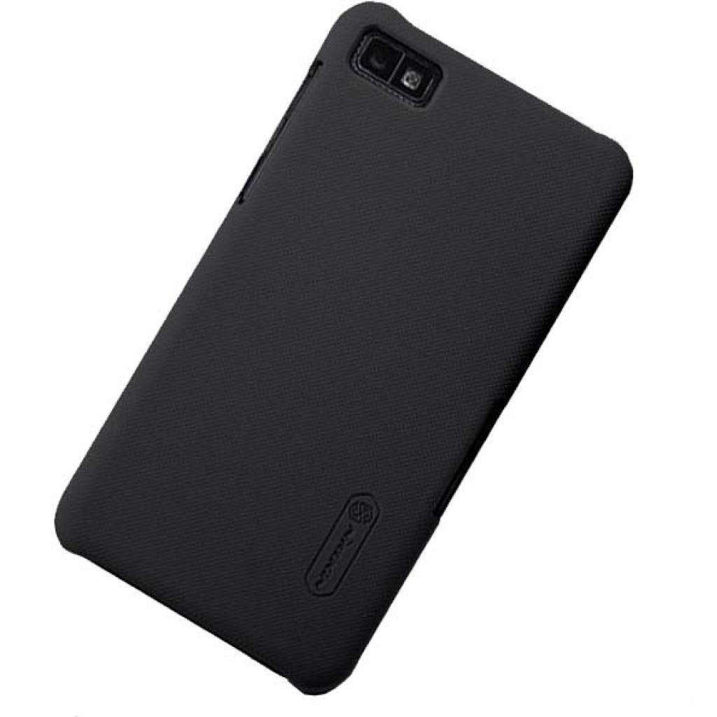 Чехол для моб. телефона NILLKIN для Bleckberry Z10 /Super Frosted Shield/Black (6120345) изображение 2