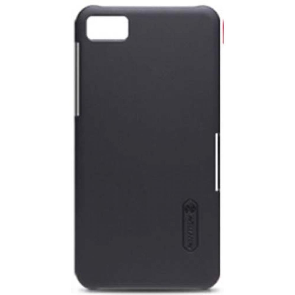 Чехол для моб. телефона NILLKIN для Bleckberry Z10 /Super Frosted Shield/Black (6120345)