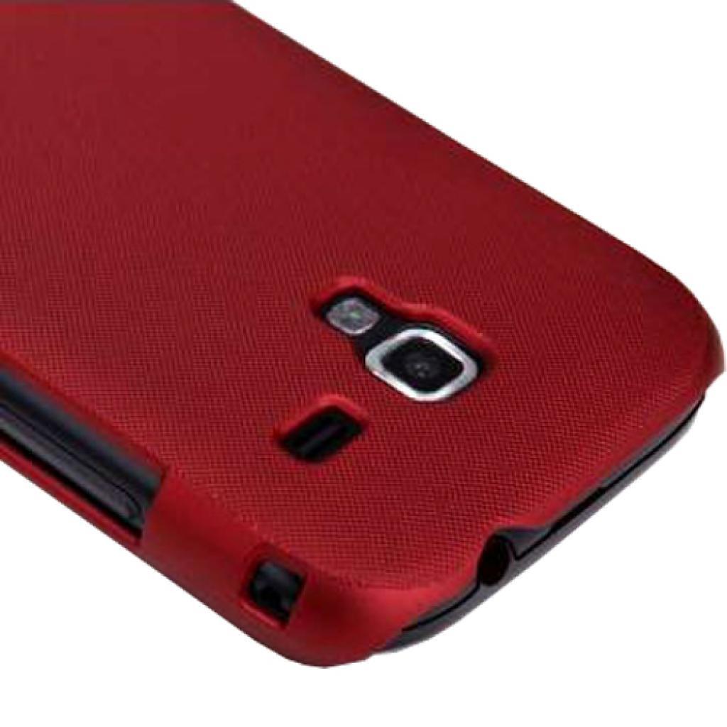 Чехол для моб. телефона NILLKIN для Samsung I8160 /Super Frosted Shield/Red (6088762) изображение 2