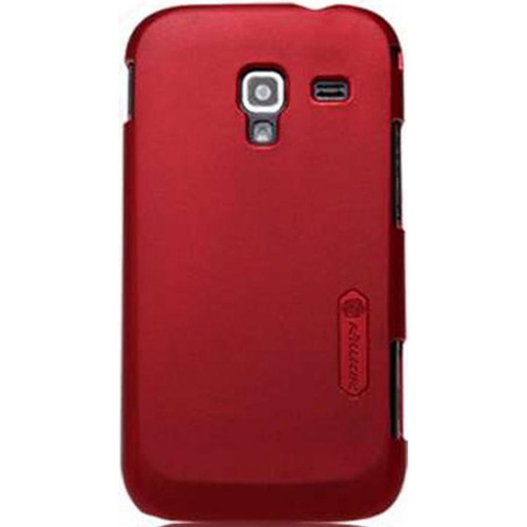 Чехол для моб. телефона NILLKIN для Samsung I8160 /Super Frosted Shield/Red (6088762)