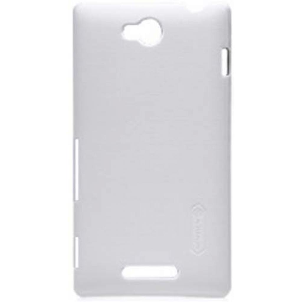 Чехол для моб. телефона NILLKIN для Sony Xperia C /Super Frosted Shield/White (6100821)