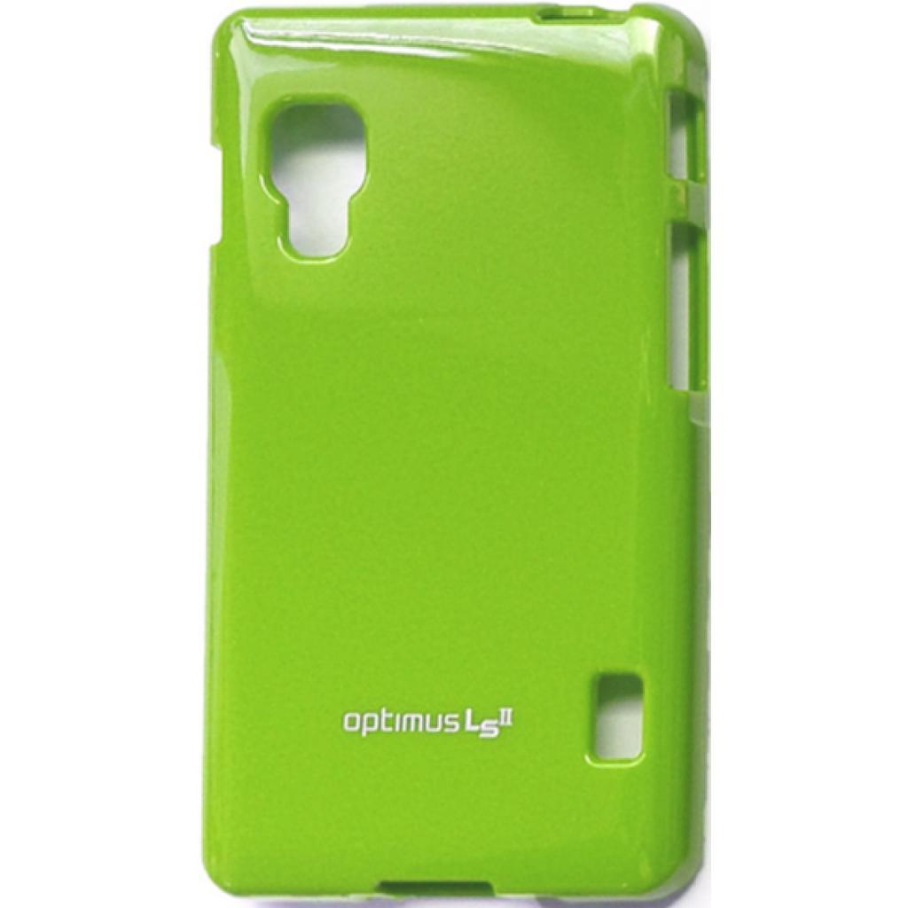 Чехол для моб. телефона VOIA для LG E450 Optimus L5II /Jelly/Lime (6068204)