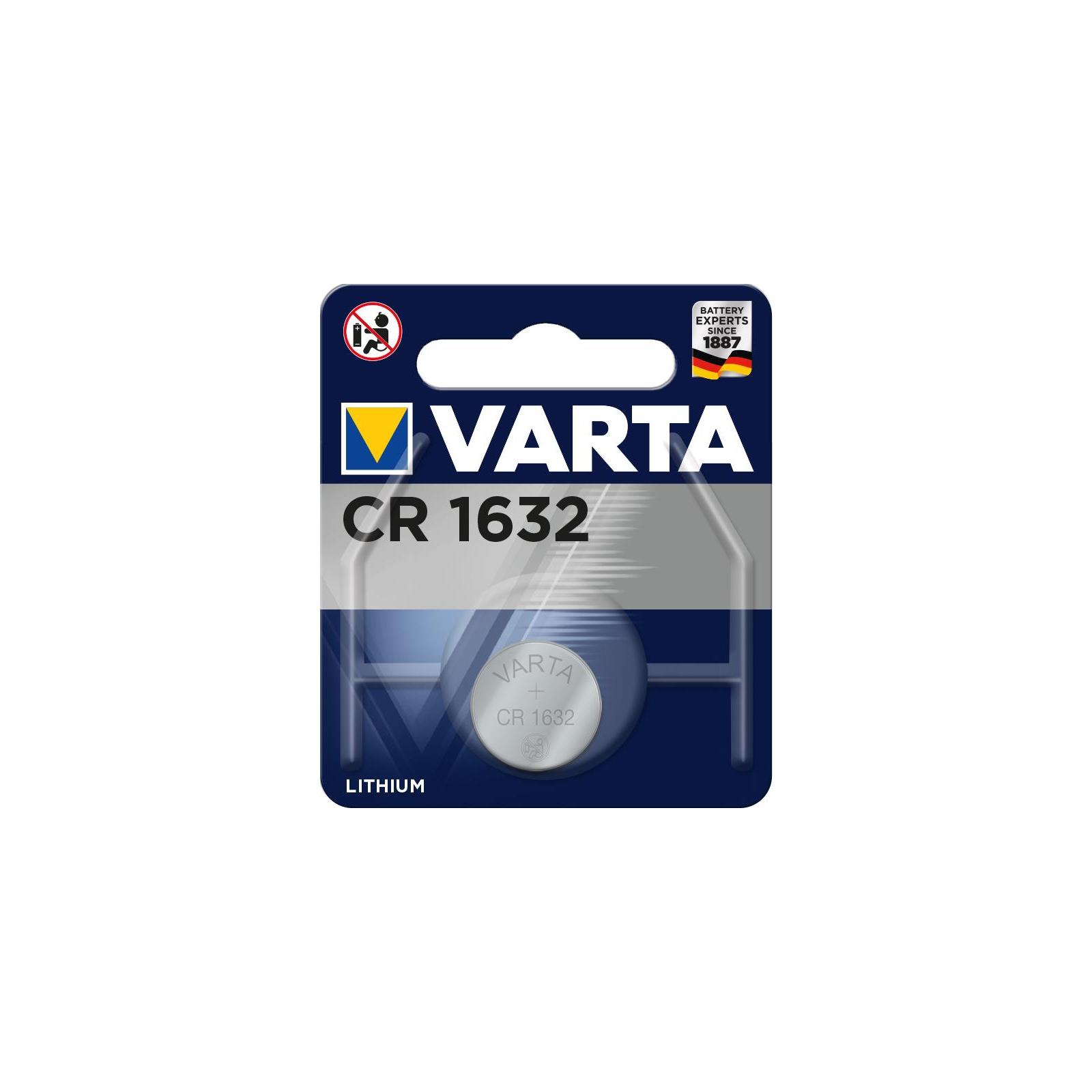 Батарейка Varta VARTA CR 1632 BLI 1 LITHIUM (06632101401)