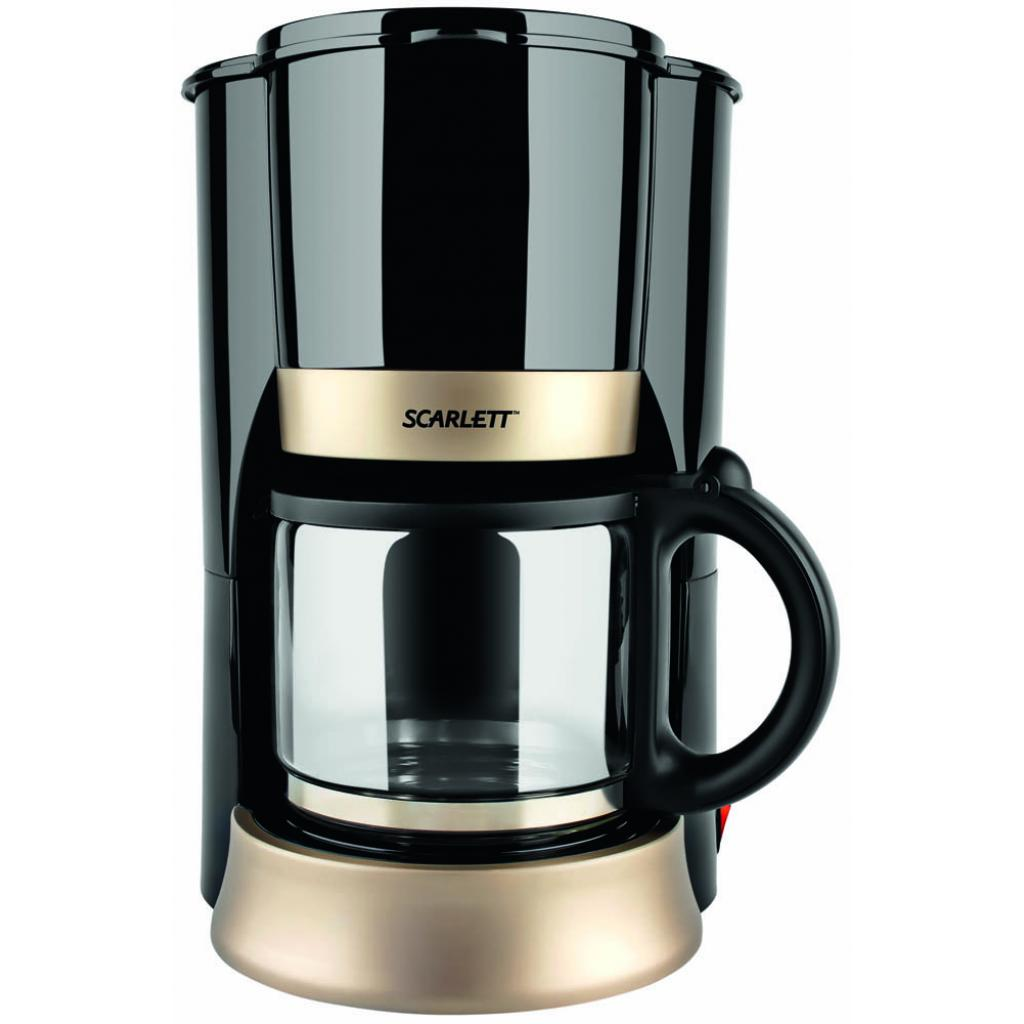 Кофеварка SCARLETT SC-032 black