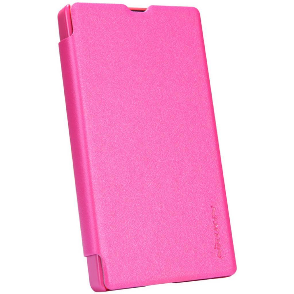 Чехол для моб. телефона NILLKIN для Nokia X /Spark/ Leather/Red (6147155) изображение 2