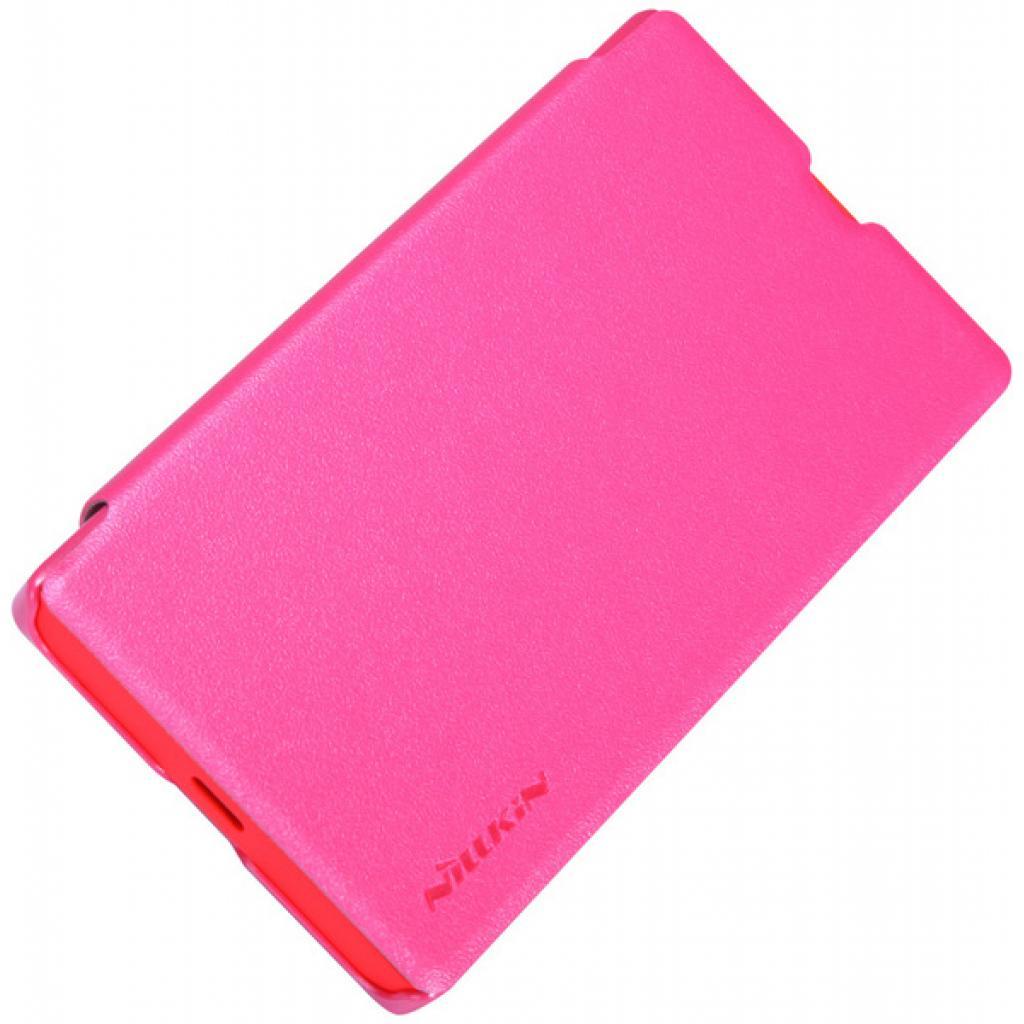 Чехол для моб. телефона NILLKIN для Nokia X /Spark/ Leather/Red (6147155) изображение 3