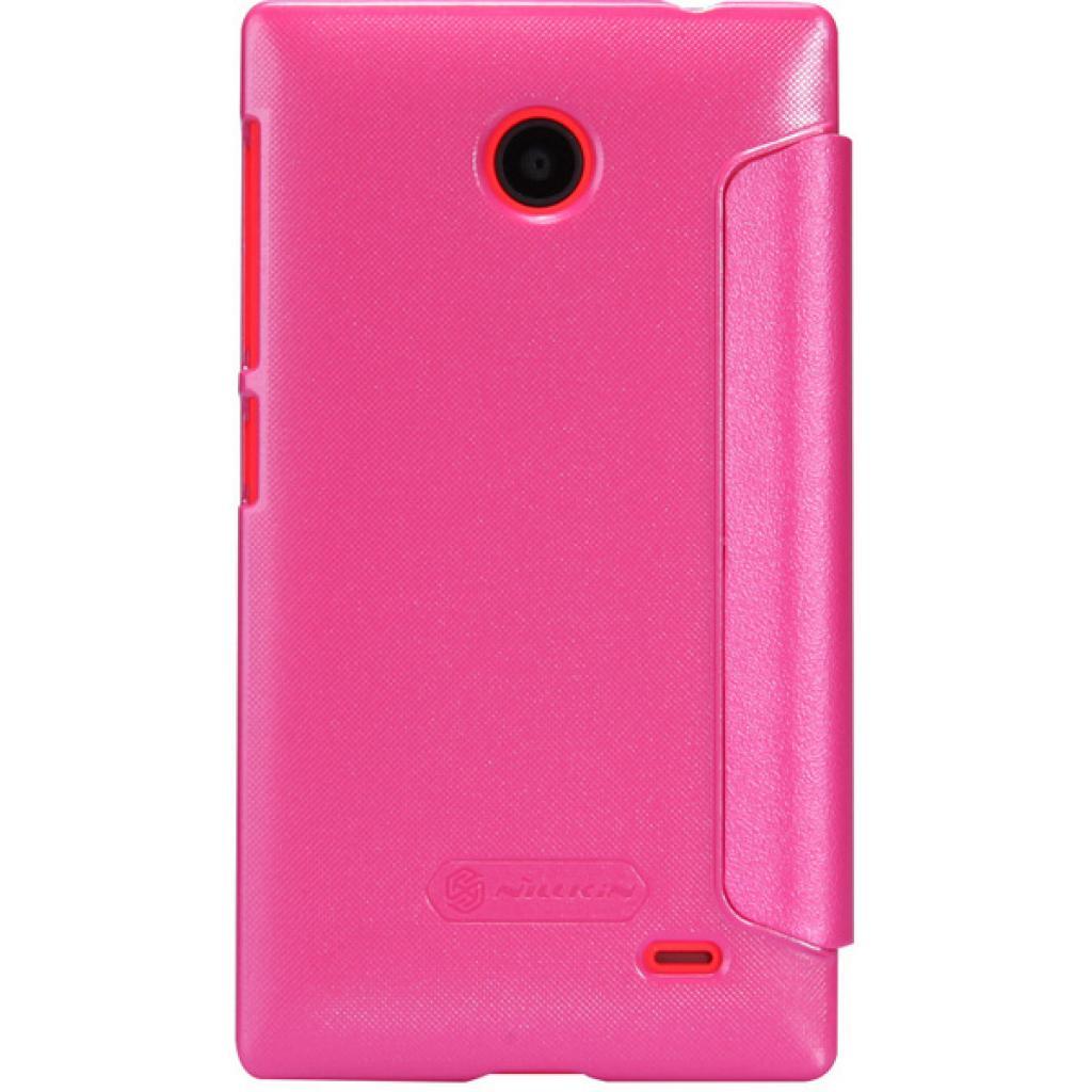 Чехол для моб. телефона NILLKIN для Nokia X /Spark/ Leather/Red (6147155) изображение 5