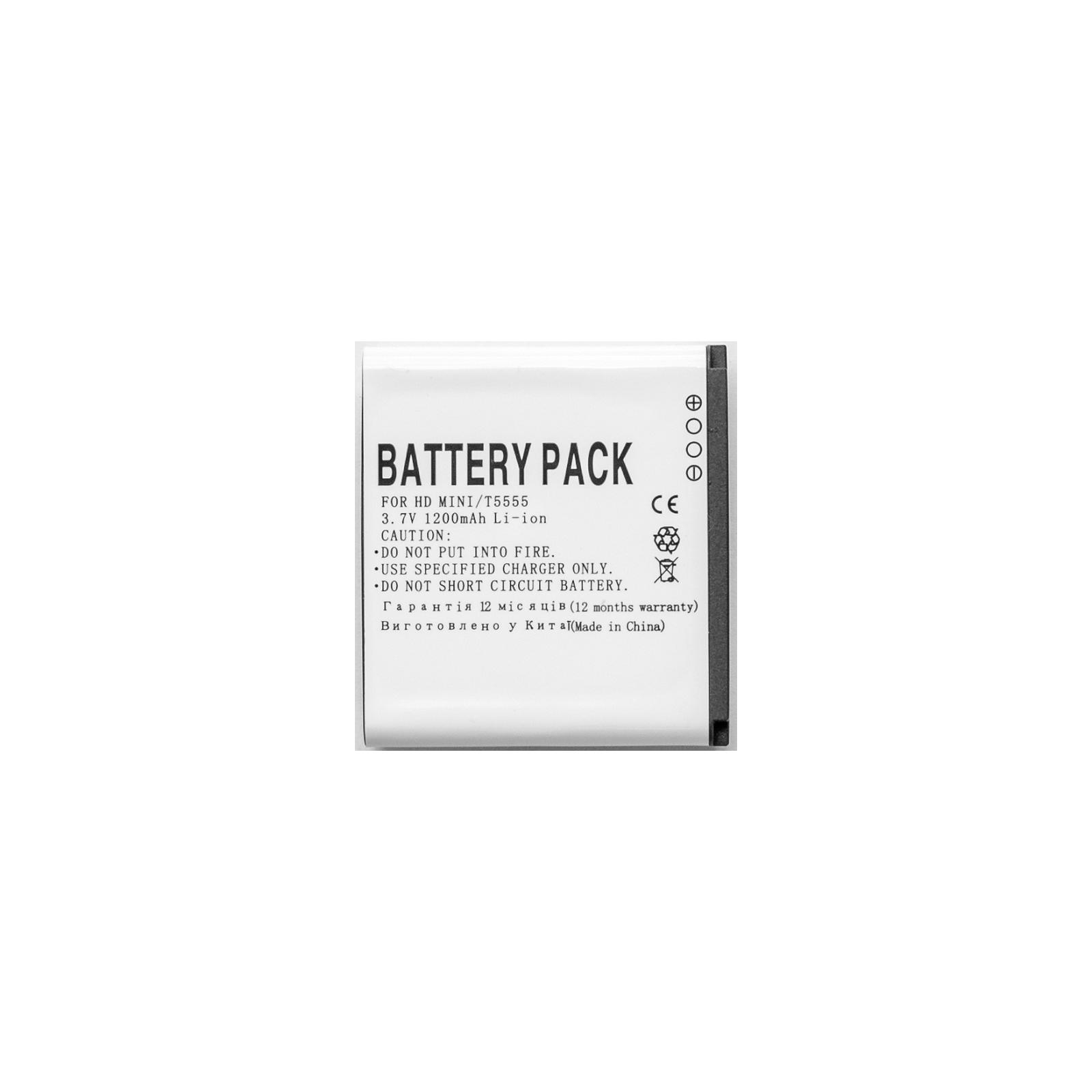 Аккумуляторная батарея PowerPlant HTC HD Mini, T5555 (BAS430) (DV00DV6086) изображение 2