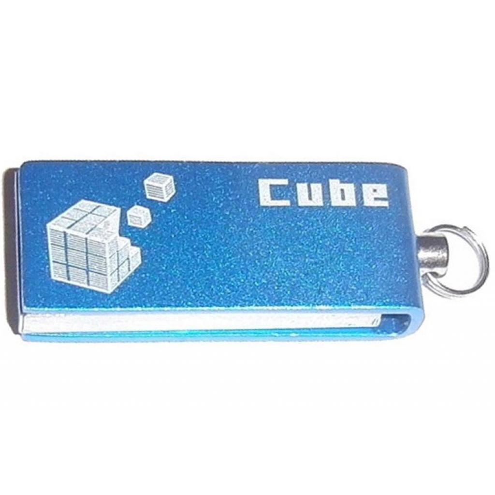 USB флеш накопитель Goodram 32GB Cube Silver USB 2.0 (PD32GH2GRCUSR9)