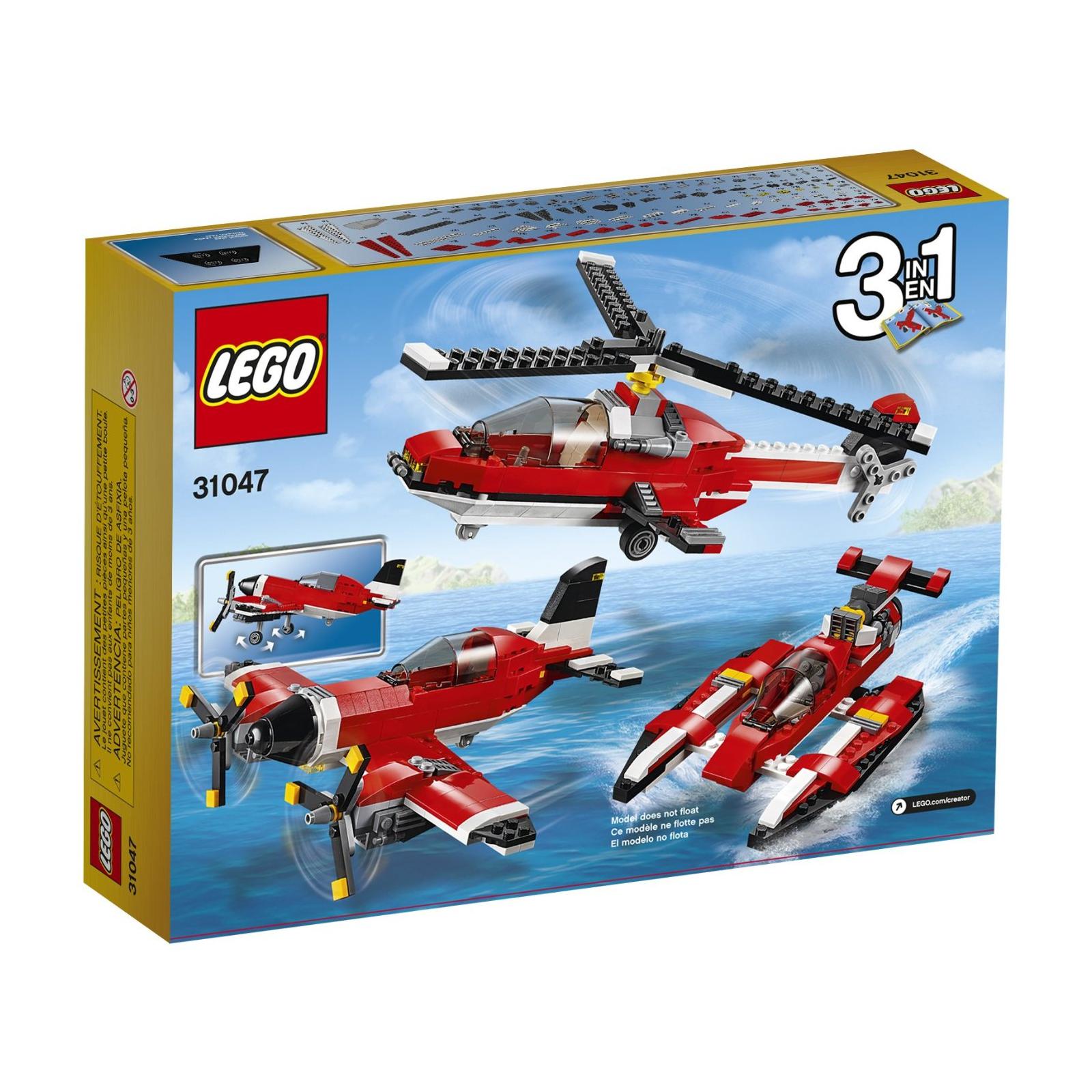 Конструктор LEGO Creator Путешествие по воздуху (31047) изображение 8