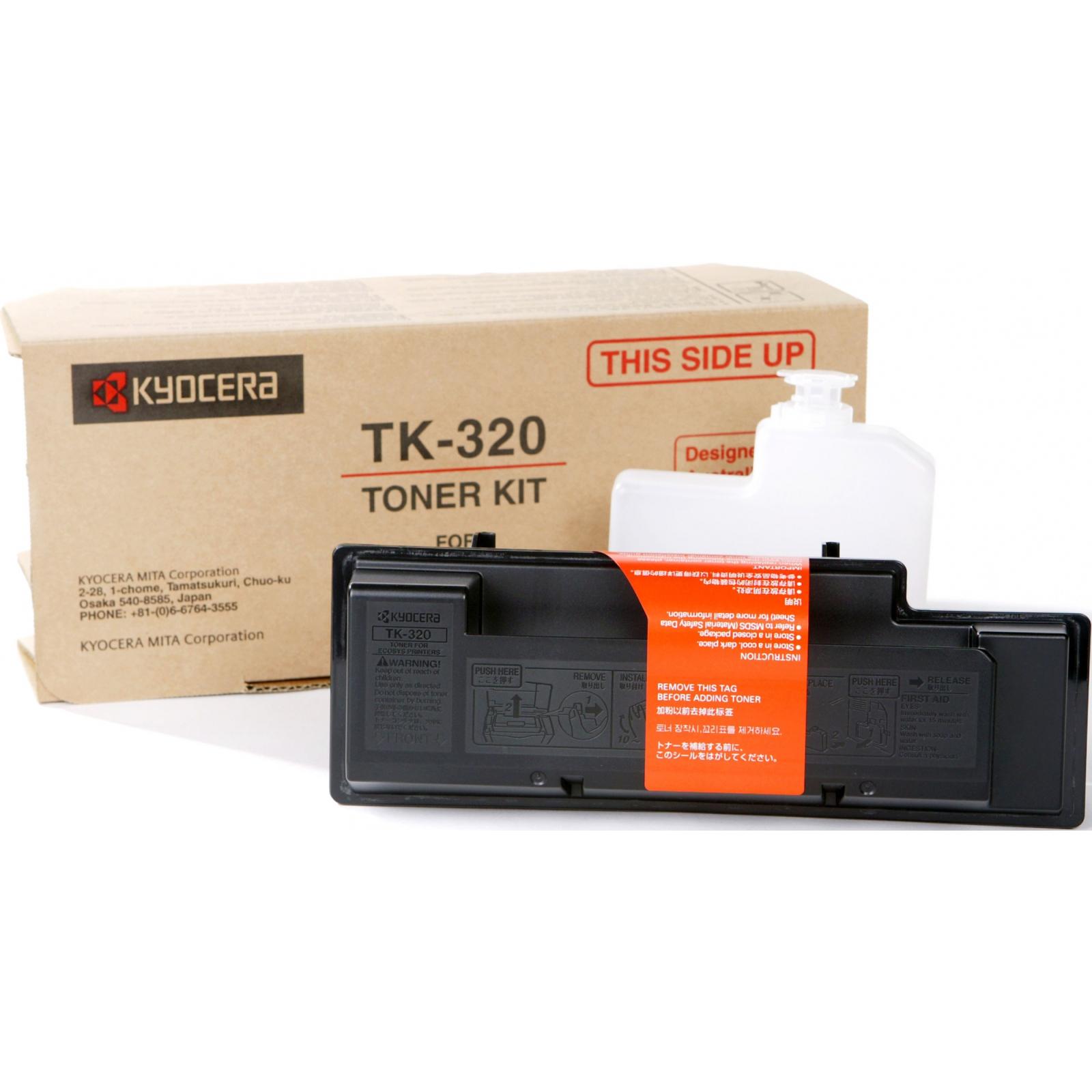 Тонер-картридж Kyocera TK-320 (1T02F90EUC)