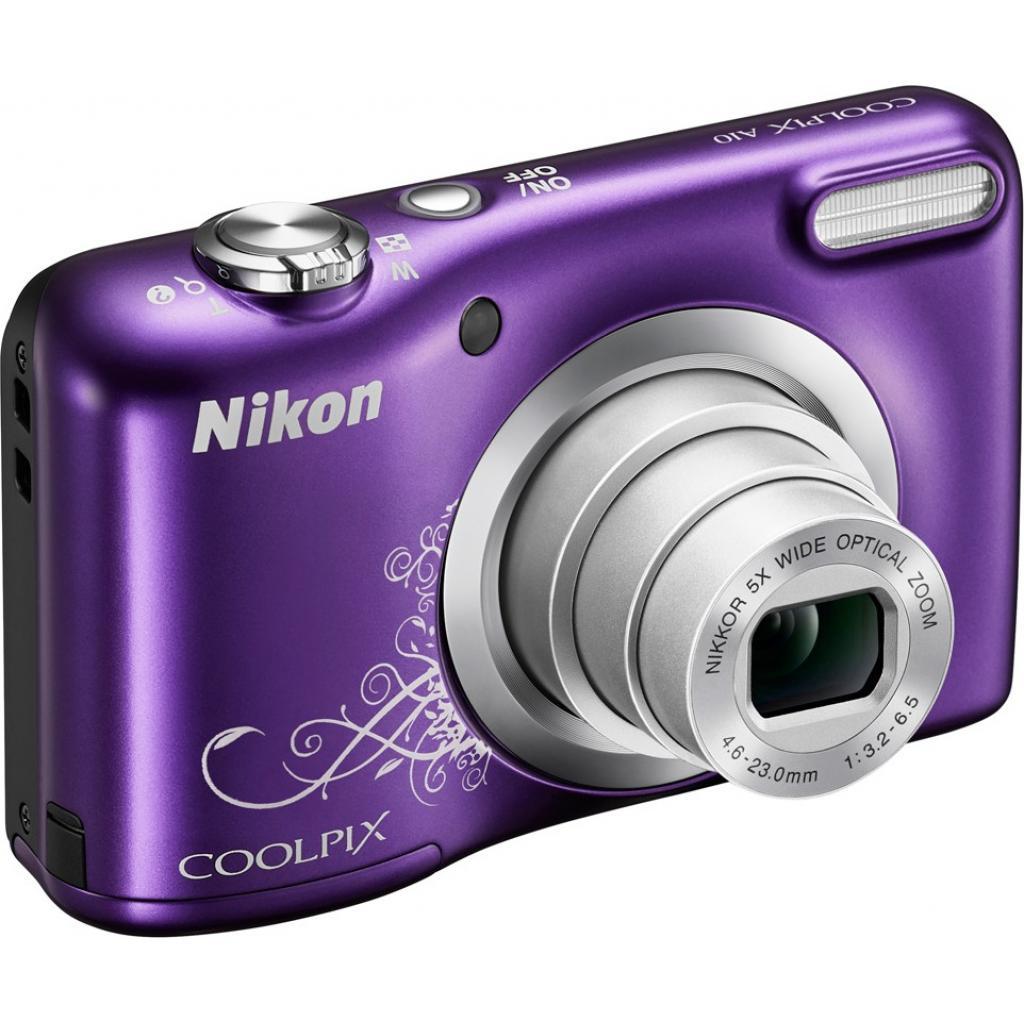 Цифровой фотоаппарат Nikon Coolpix A10 Purple Lineart (VNA983E1) изображение 3