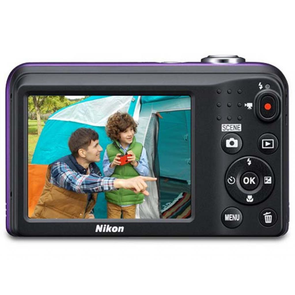 Цифровой фотоаппарат Nikon Coolpix A10 Purple Lineart (VNA983E1) изображение 4