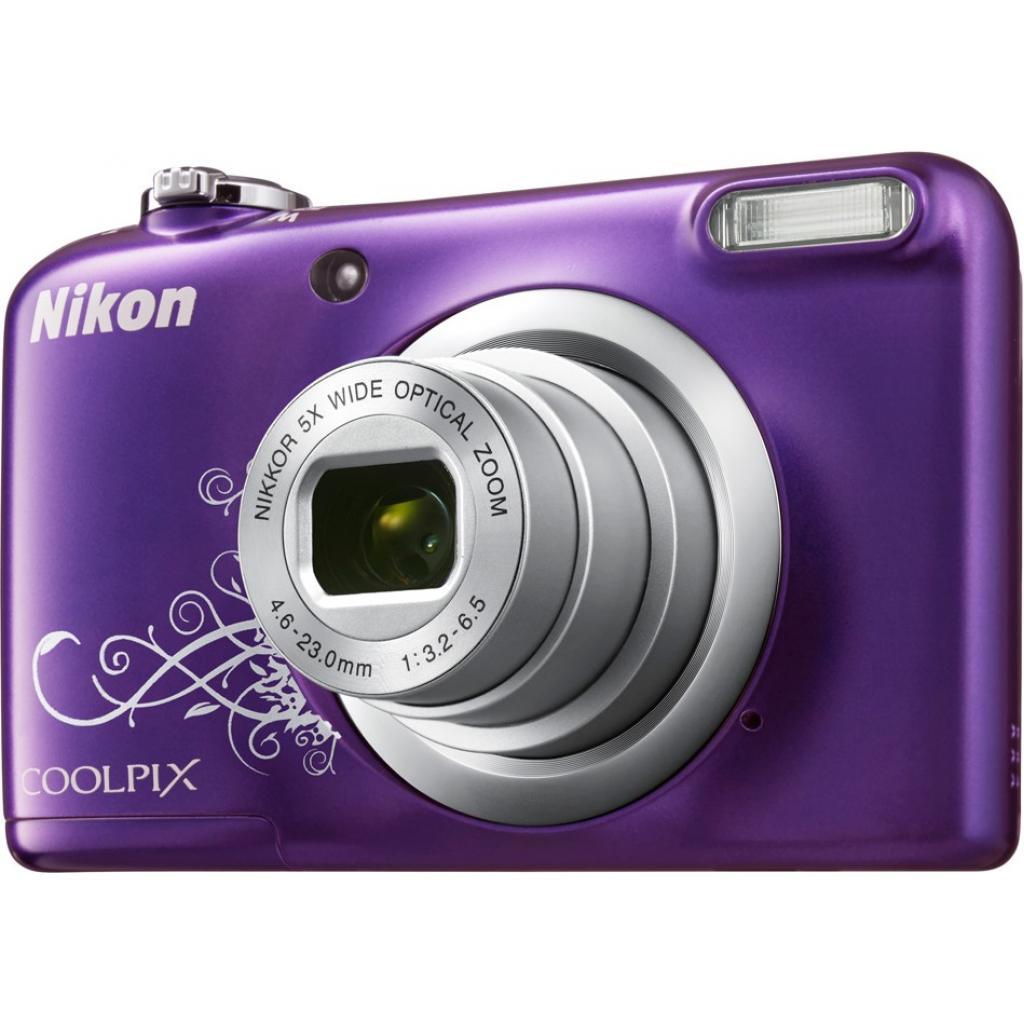 Цифровой фотоаппарат Nikon Coolpix A10 Purple Lineart (VNA983E1) изображение 6