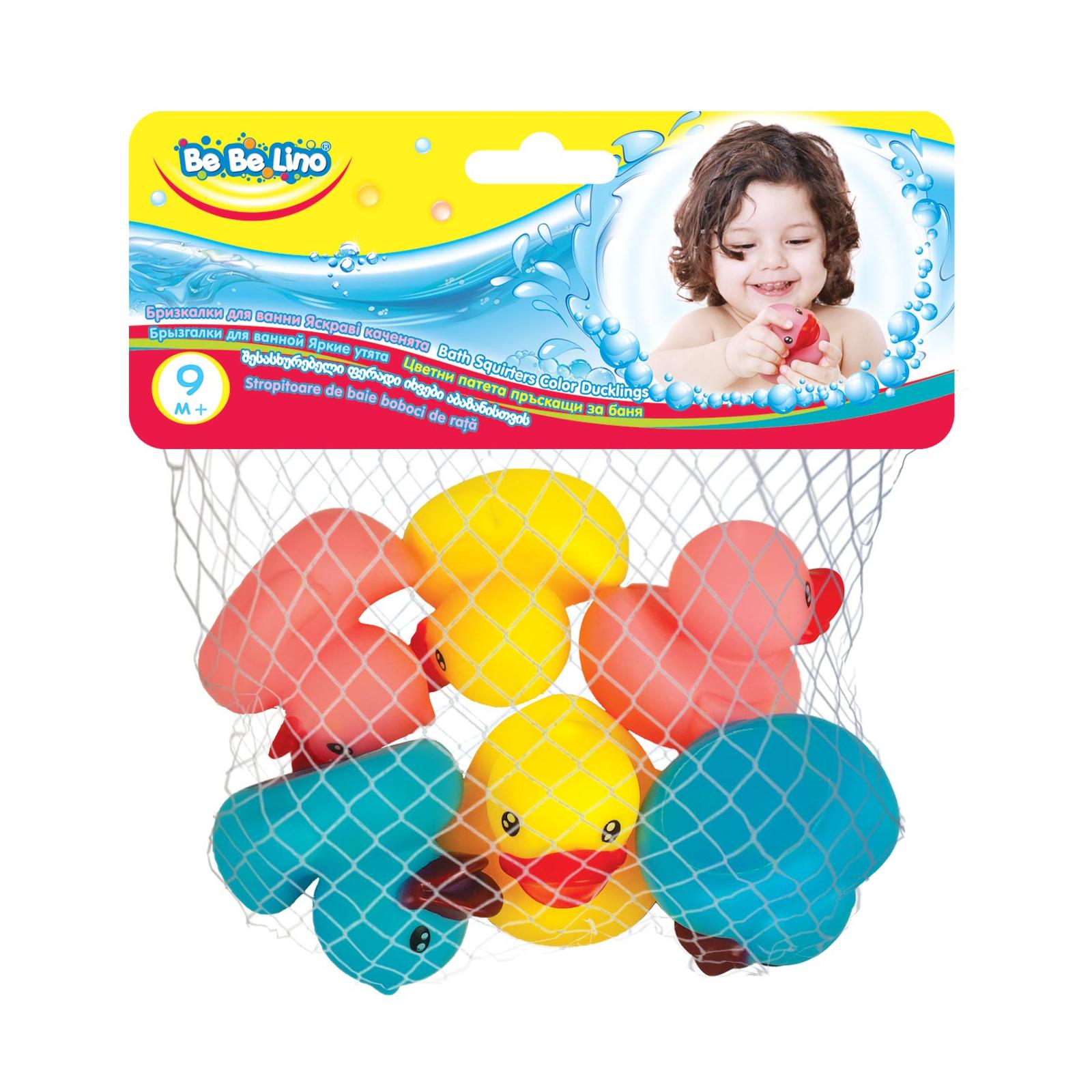 Игрушка для ванной BeBeLino Яркие утята (57086) изображение 8