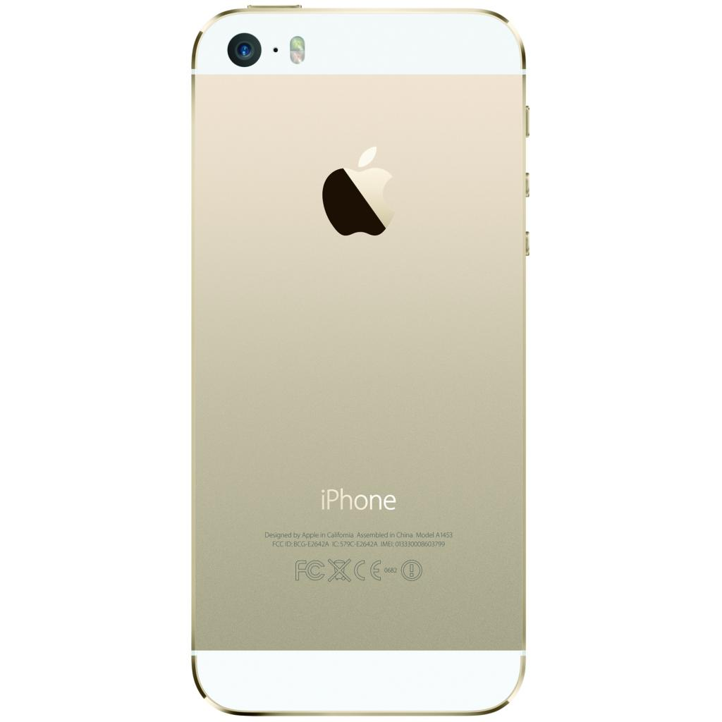 Мобильный телефон Apple iPhone 5S 16Gb Gold Original factory refurbished (FE434UA/A) изображение 2