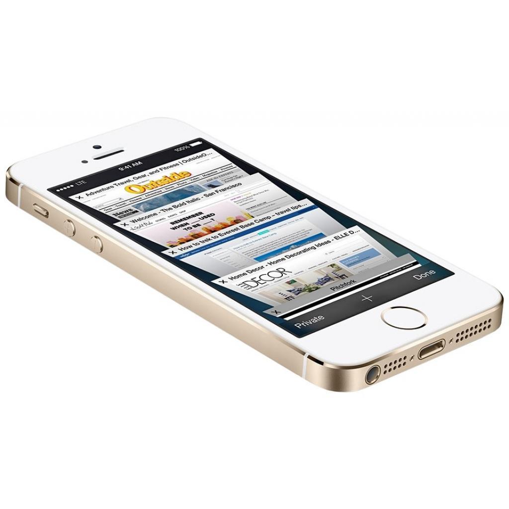 Мобильный телефон Apple iPhone 5S 16Gb Gold Original factory refurbished (FE434UA/A) изображение 3