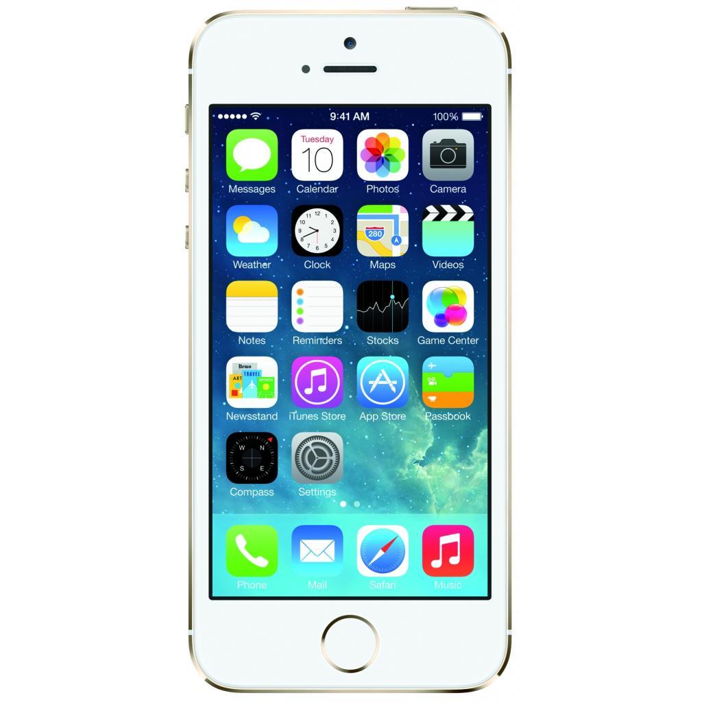 Мобильный телефон Apple iPhone 5S 16Gb Gold Original factory refurbished (FE434UA/A)