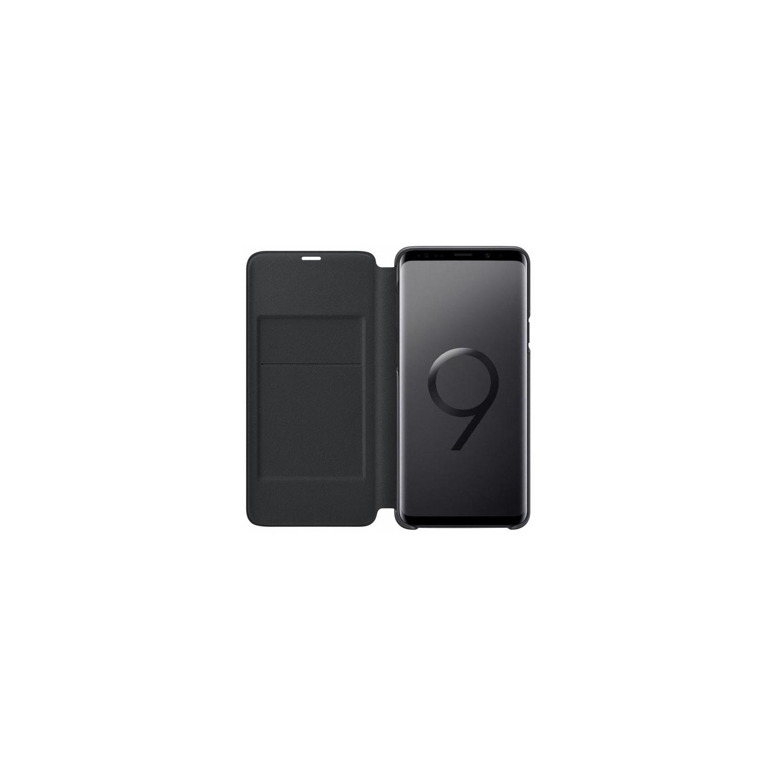 Чехол для моб. телефона Samsung для Galaxy S9+ (G965) LED View Cover Black (EF-NG965PBEGRU) изображение 3