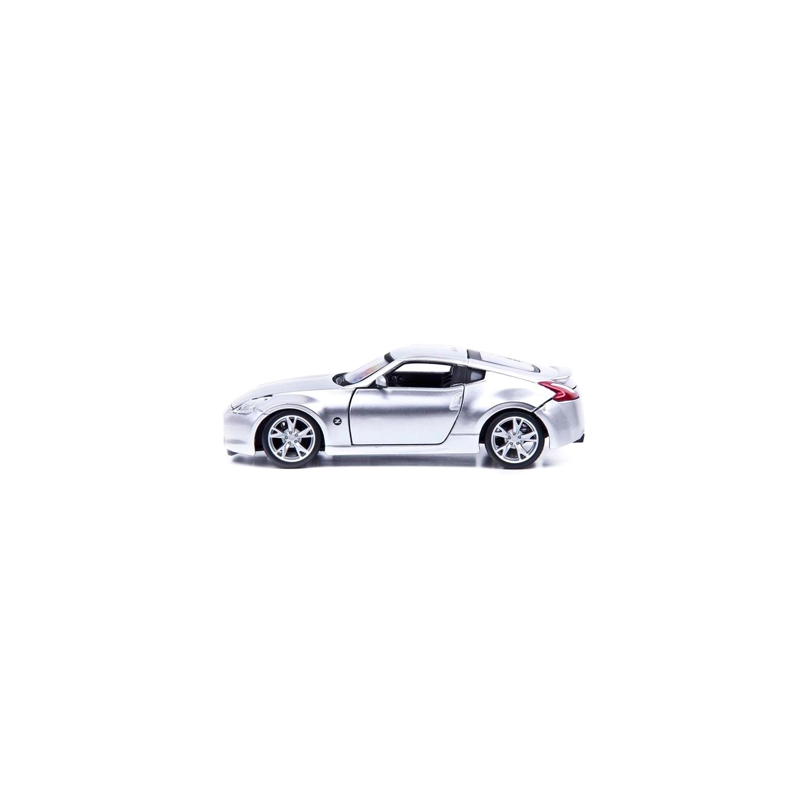 Машина Maisto Nissan 370Z 2009 (1:24) серебристый (31200 silver) изображение 3