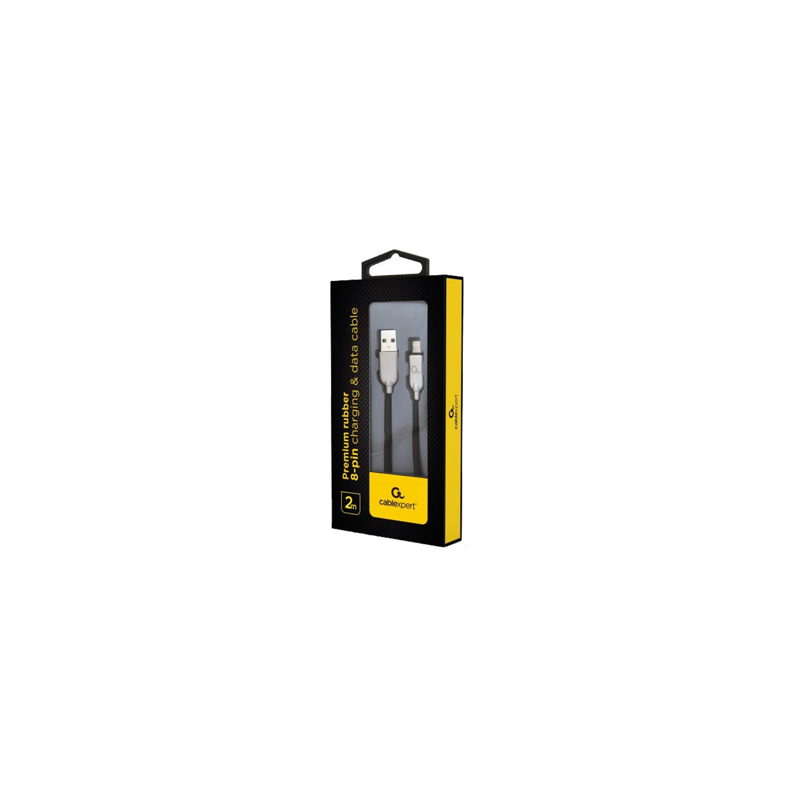 Дата кабель USB 2.0 AM to Lightning 2.0m Cablexpert (CC-USB2R-AMLM-2M-W) изображение 2