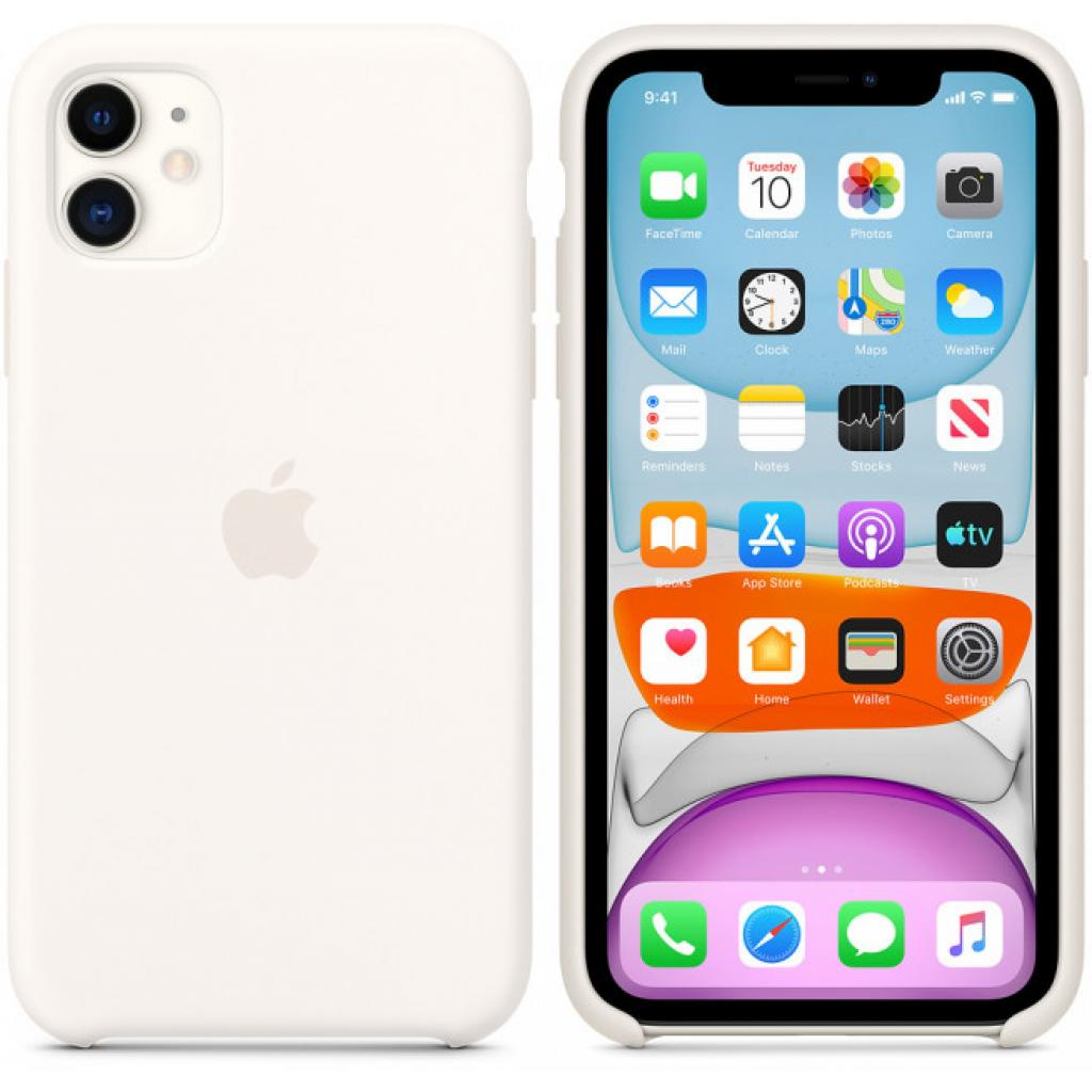 Чехол для моб. телефона Apple iPhone 11 Silicone Case - Black (MWVU2ZM/A) изображение 6