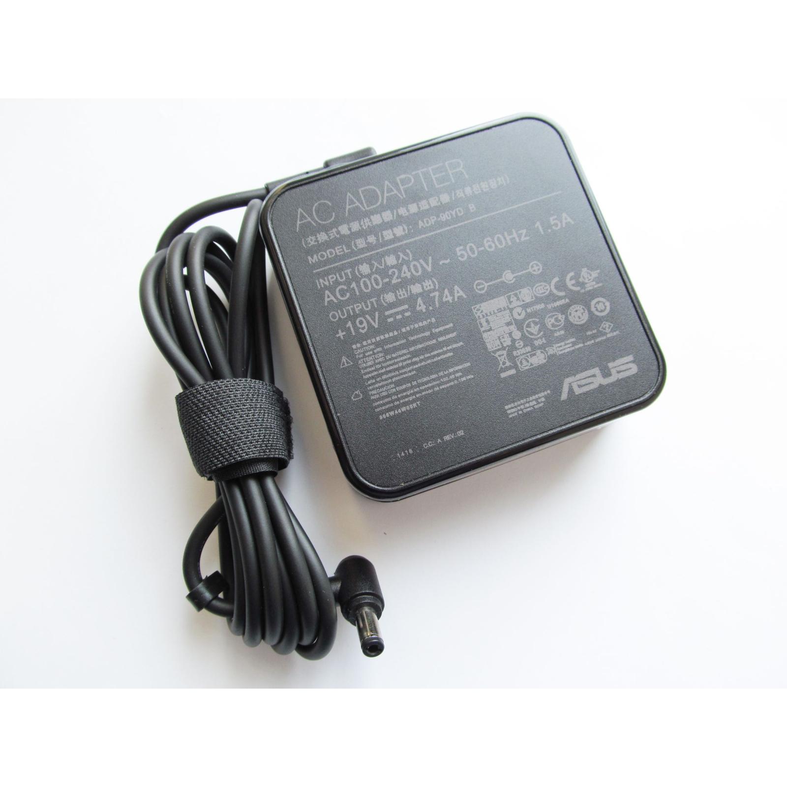 Блок питания к ноутбуку ASUS 90W 19V, 4.74A, разъем 5.5/2.5 (ADP-90YD / A40264) изображение 2