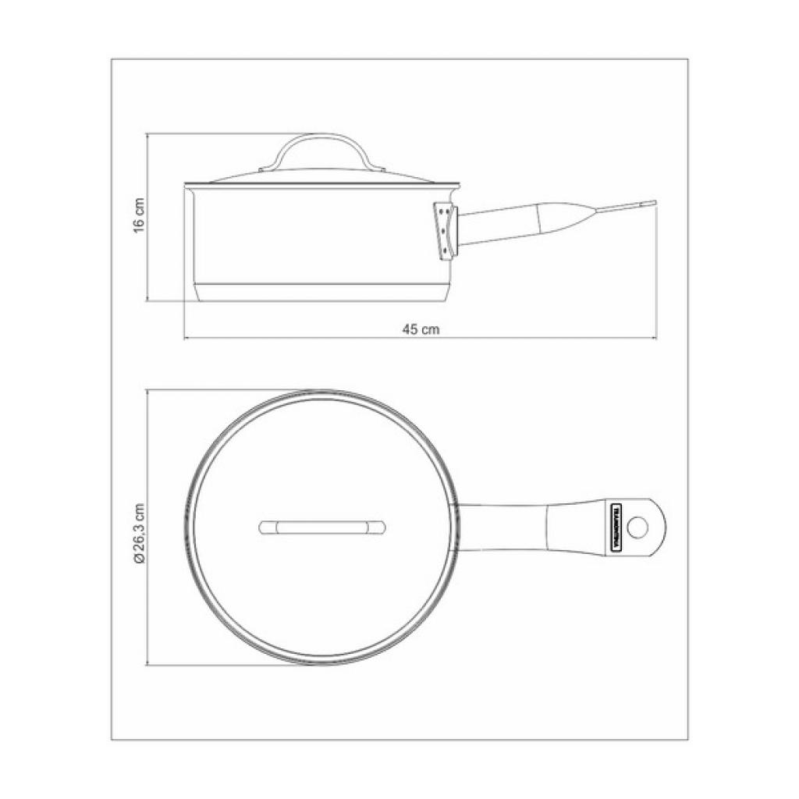 Ковш Tramontina Professional 2.2 л (62627/160) изображение 6