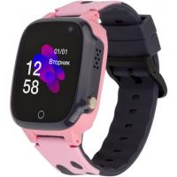 Смарт-часы Discovery iQ4600 Camera Pink Детские смарт часы-телефон трекер (iQ4600 Pink)