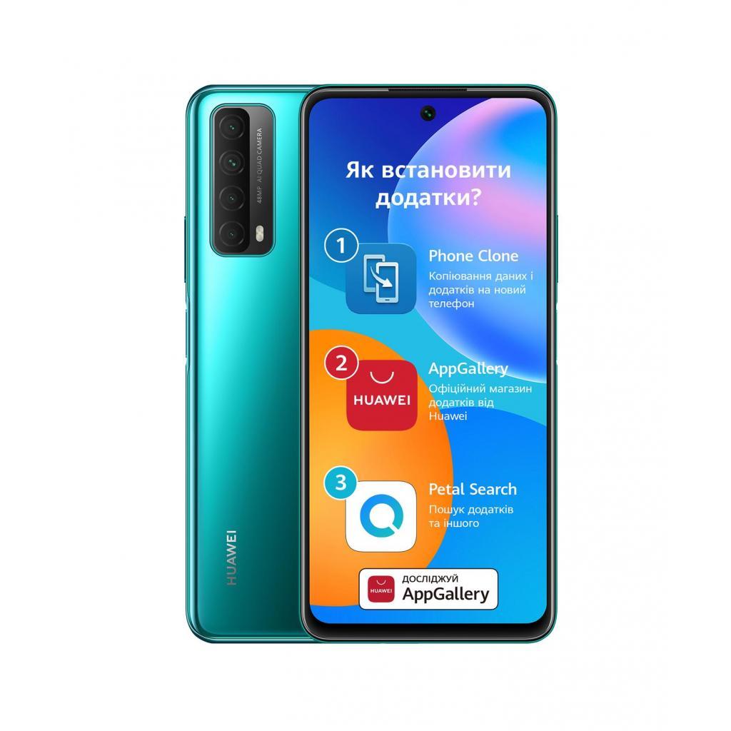 Мобільний телефон Huawei P Smart 2021 4/128Gb Midnight Black (51096ABV) зображення 2
