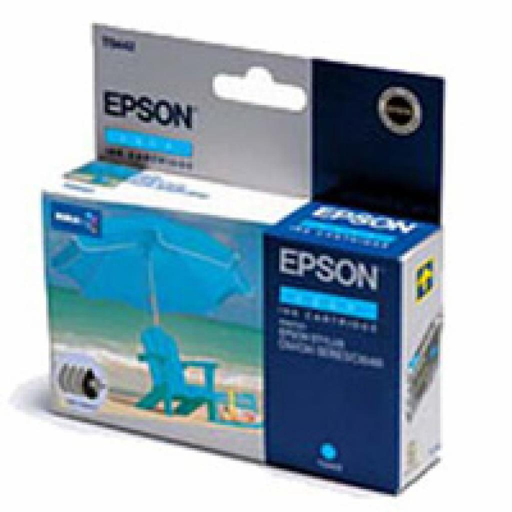 Картридж EPSON St C84/86, CX6400/6600 cyan (C13T04424010)
