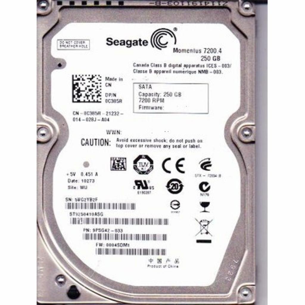 "Жесткий диск 3.5""  250Gb Seagate (ST250DM000)"