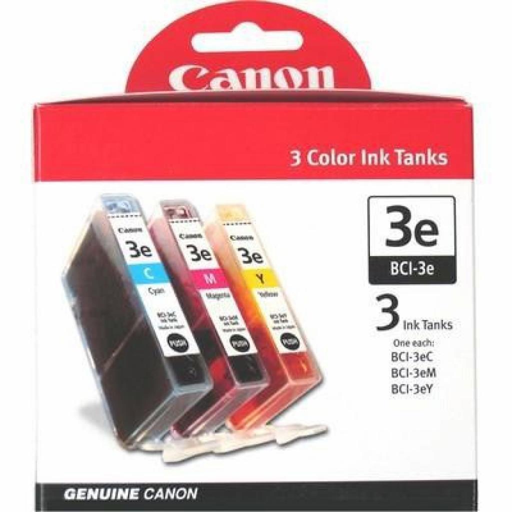 Картридж BCI-3e Bundle (C, M, Y) Canon (4480A262/4480A265)