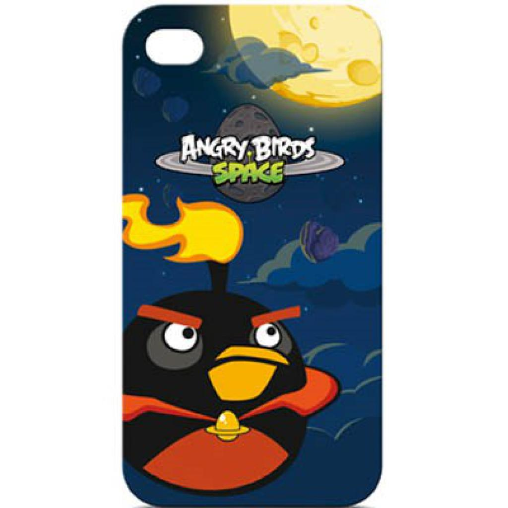Чехол для моб. телефона GEAR4 Angry Birds Space /Black Bird (ICAS405G)
