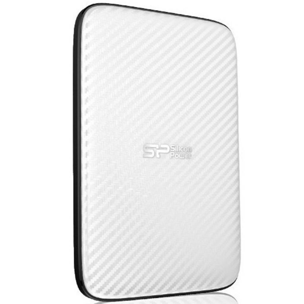 """Внешний жесткий диск 2.5"""" 500GB Silicon Power (SP500GBPHDD20S3W) изображение 2"""