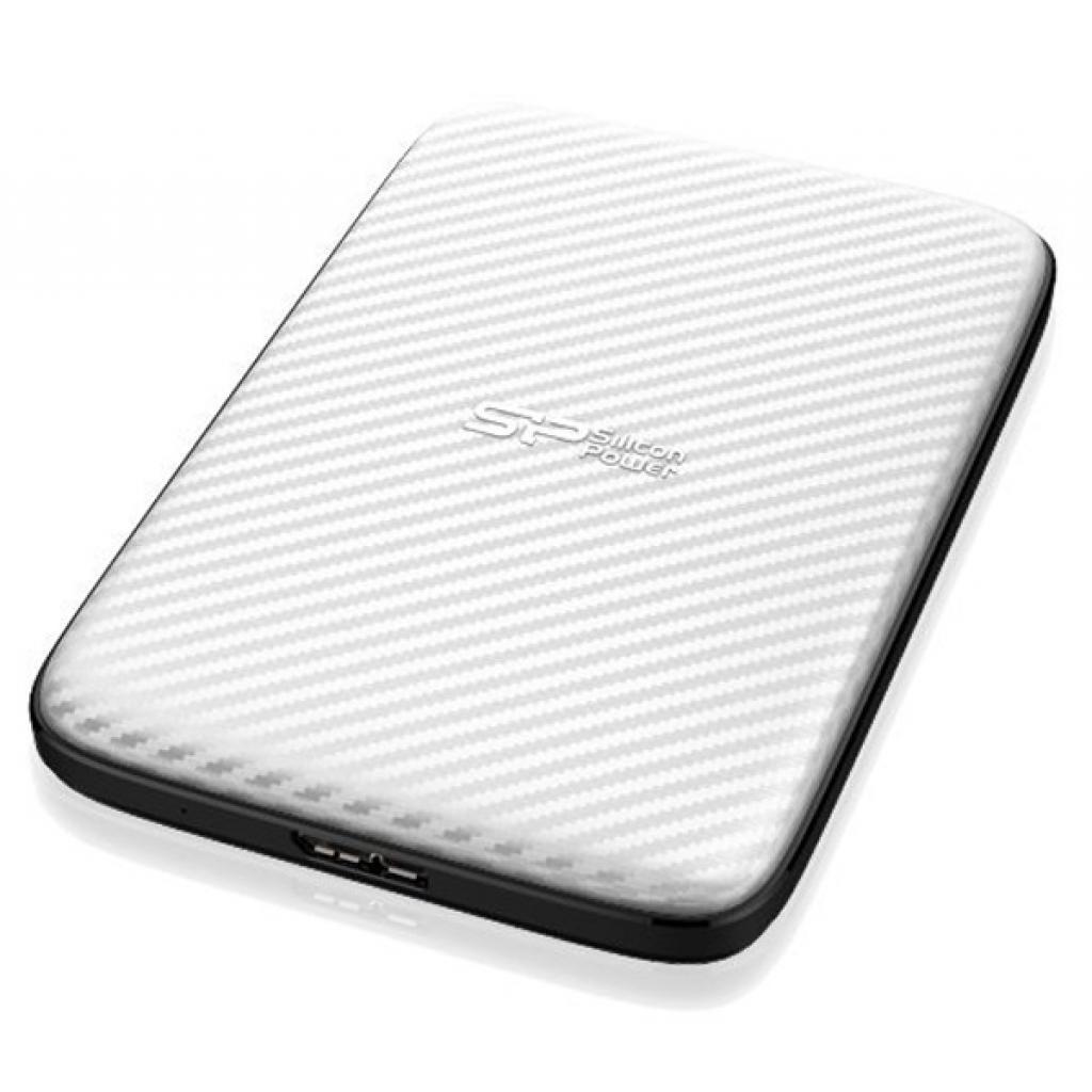 """Внешний жесткий диск 2.5"""" 500GB Silicon Power (SP500GBPHDD20S3W) изображение 3"""