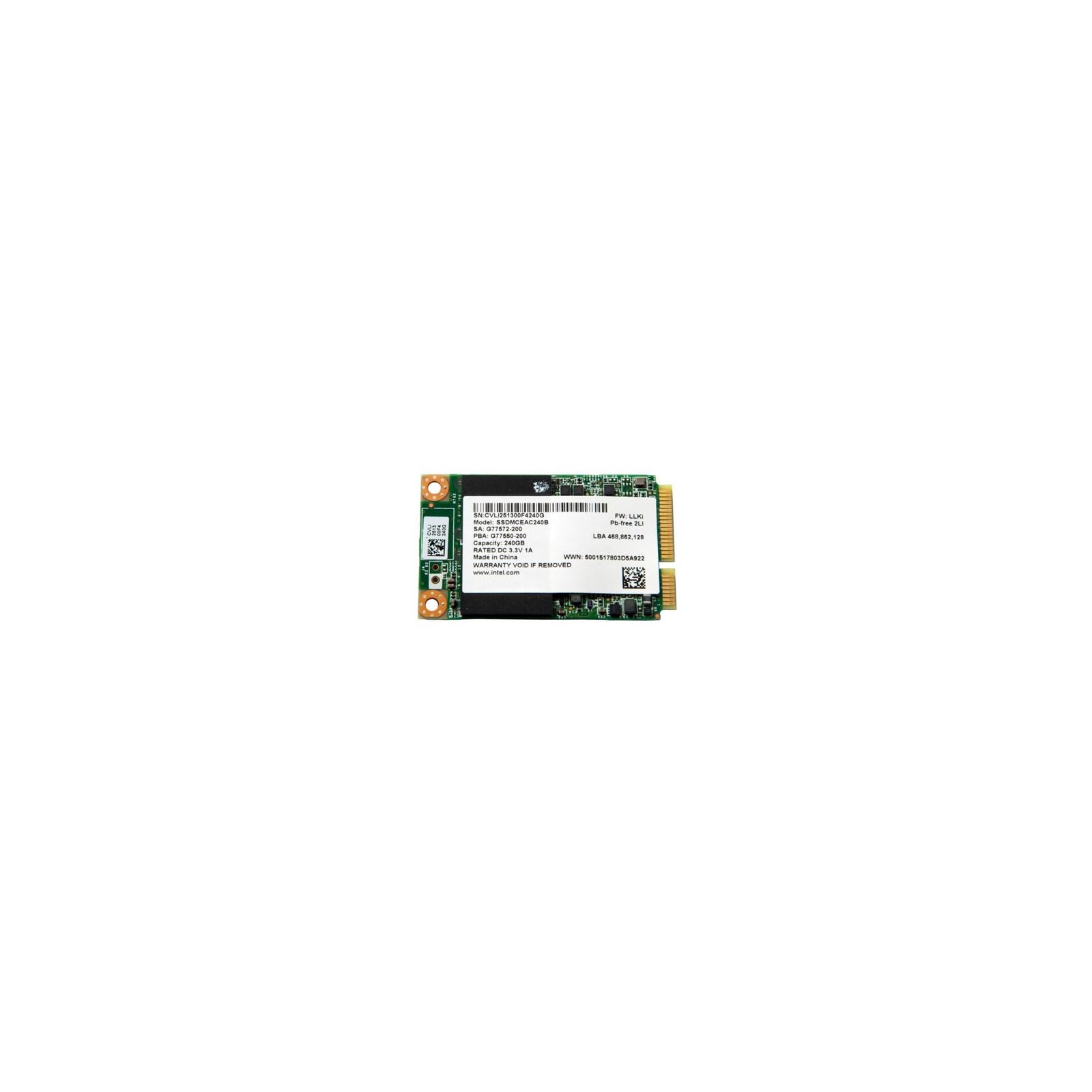 Накопитель SSD mSATA 240GB INTEL (SSDMCEAC240B301)
