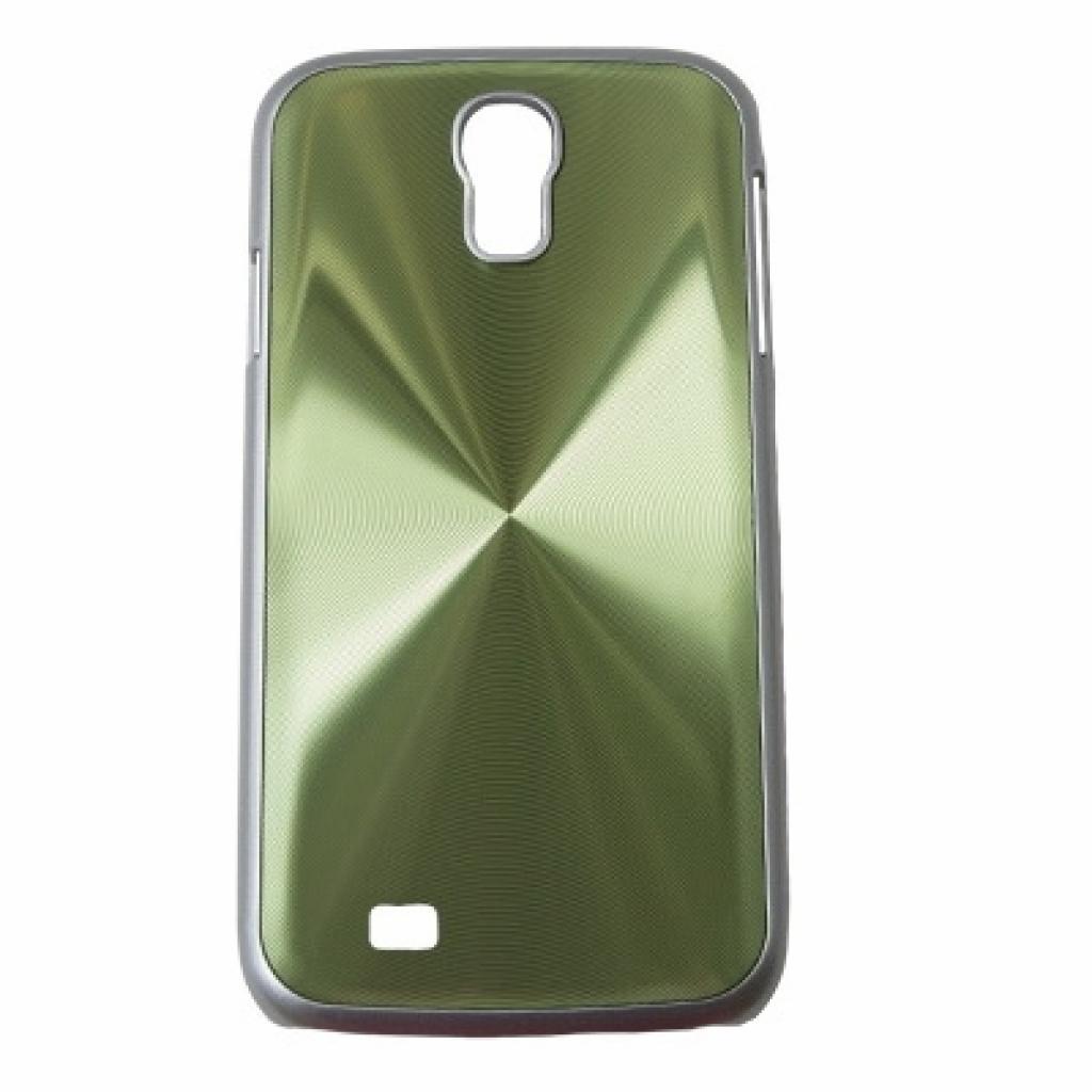 Чехол для моб. телефона Drobak для Samsung I9500 Galaxy S4/Aluminium Panel/Green (215223)