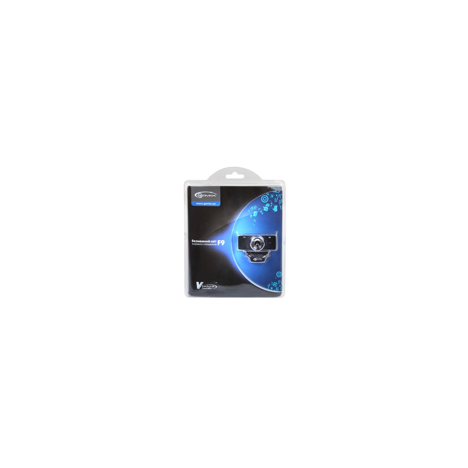 Веб-камера Gemix F9 blue изображение 3