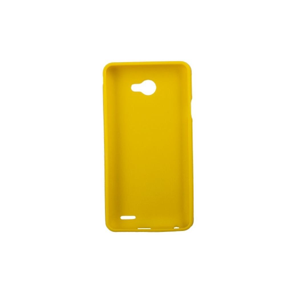 Чехол для моб. телефона Drobak для FlyIQ4403 /Elastic PU/Yellow (214730) изображение 2
