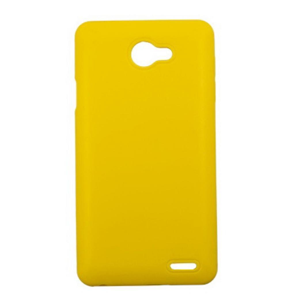 Чехол для моб. телефона Drobak для FlyIQ4403 /Elastic PU/Yellow (214730)