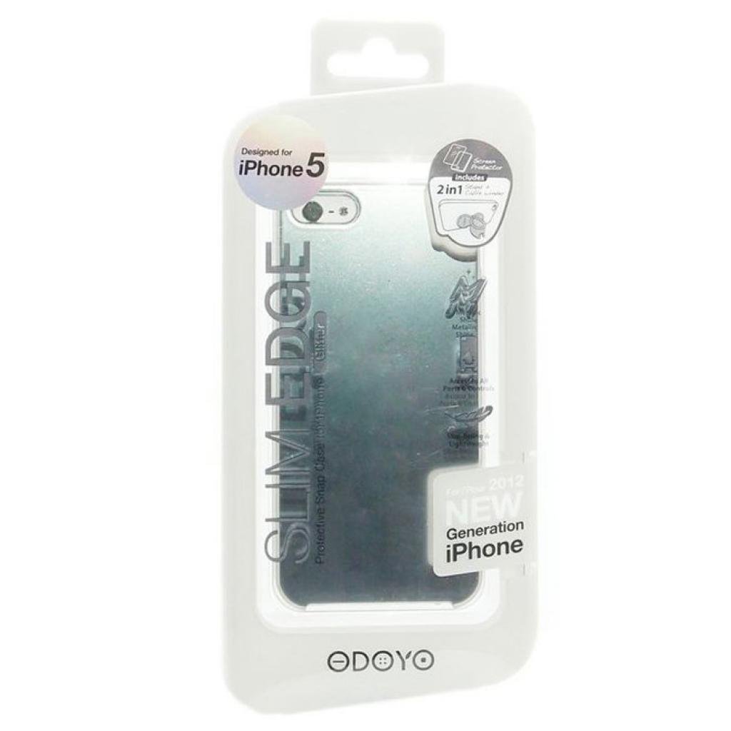 Чехол для моб. телефона ODOYO iPhone 5/5s SLIM EDGE GLITTER COOL SILVER (PH351CS) изображение 4