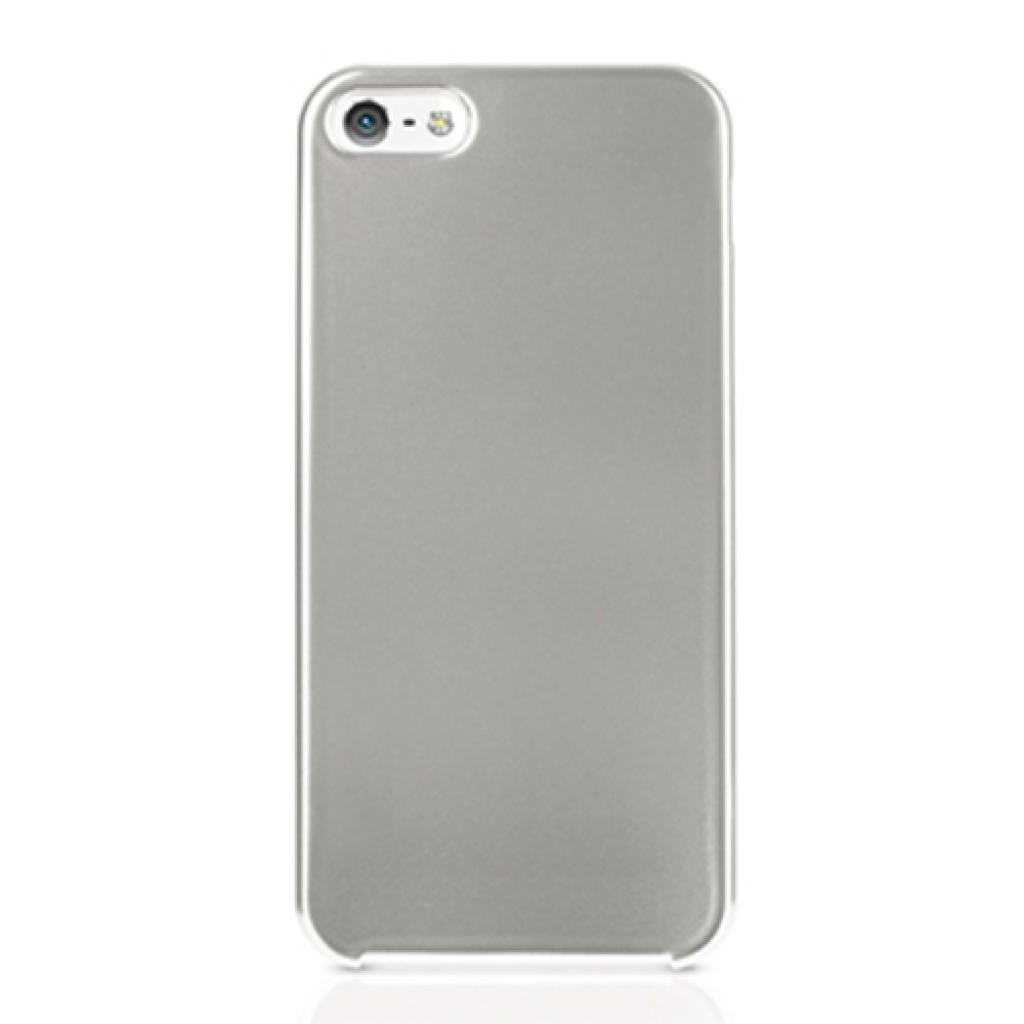 Чехол для моб. телефона ODOYO iPhone 5/5s SLIM EDGE GLITTER COOL SILVER (PH351CS)