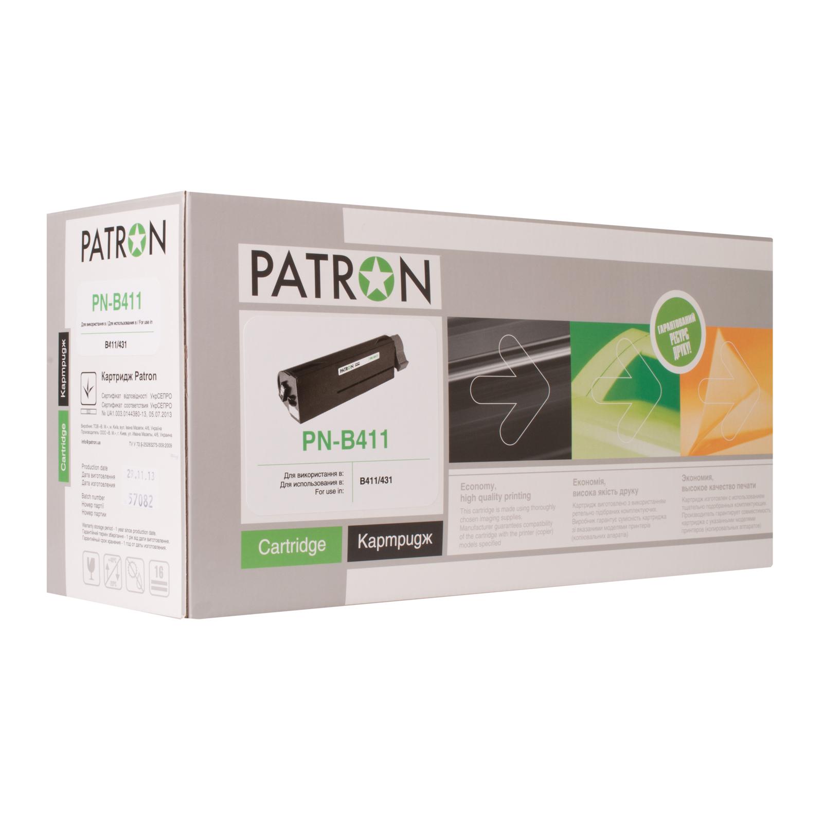 Тонер-картридж PATRON OKI B411/B431 (44574705) PN-B411 (CT-OKI-B411-PN)