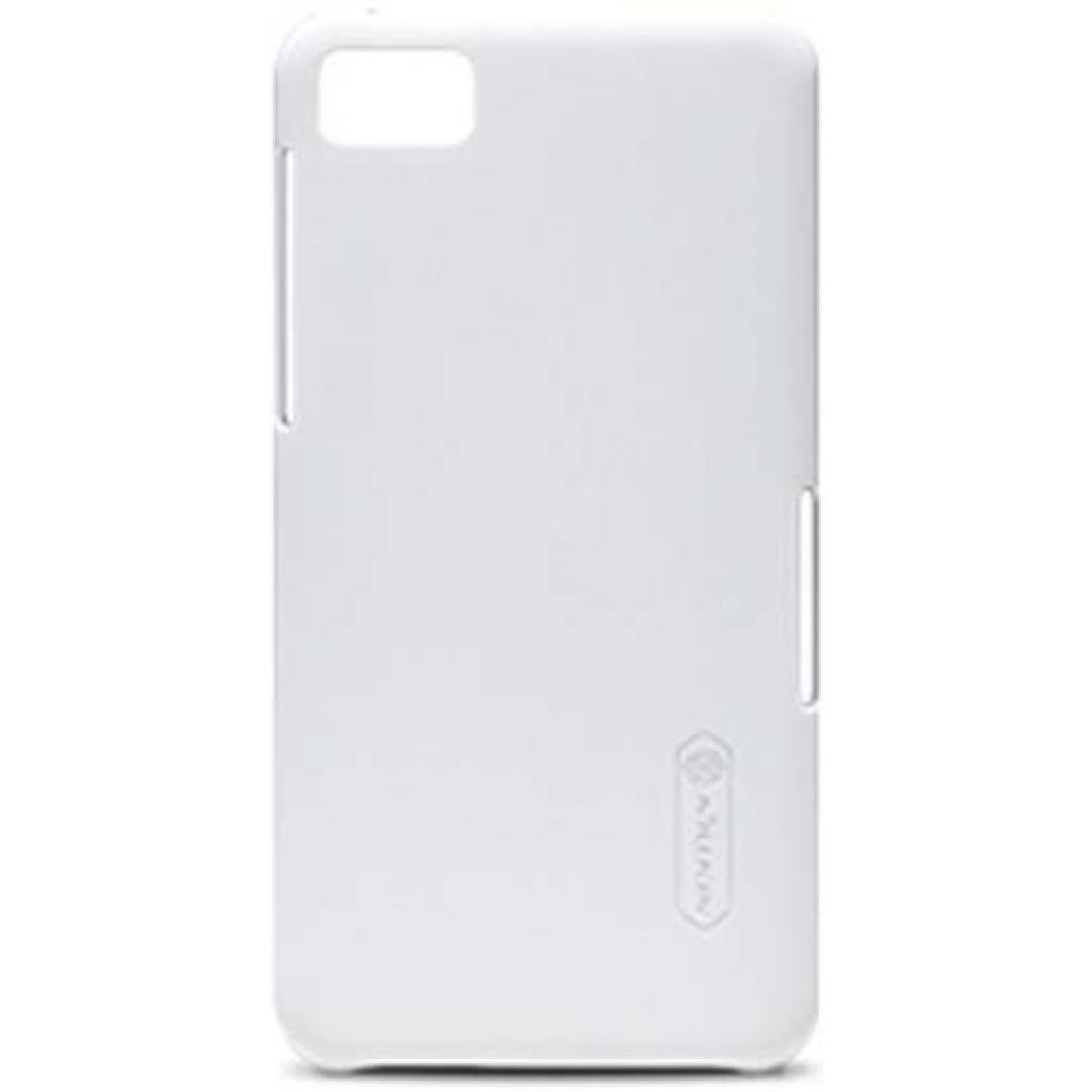 Чехол для моб. телефона NILLKIN для Bleckberry Z10 /Super Frosted Shield/White (6116674)