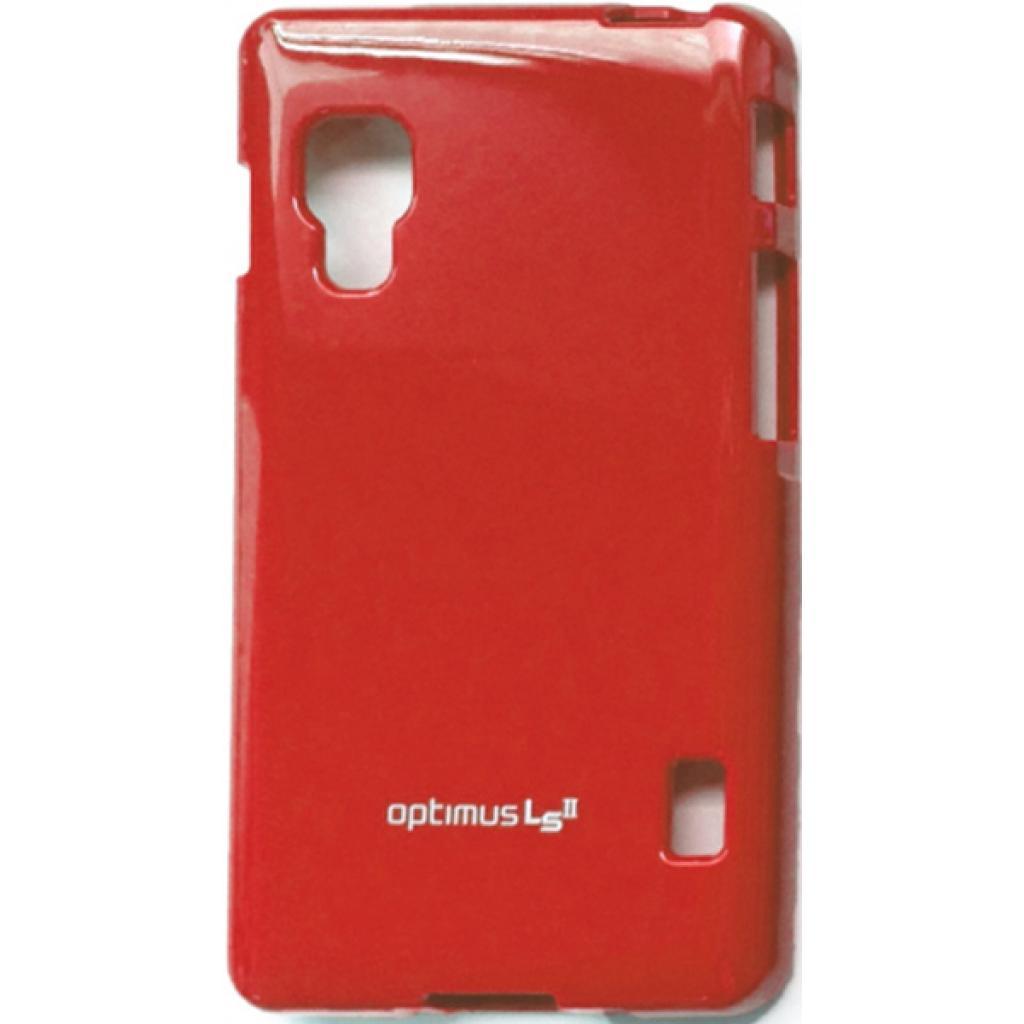 Чехол для моб. телефона VOIA для LG E450 Optimus L5II /Jelly/Red (6068203)