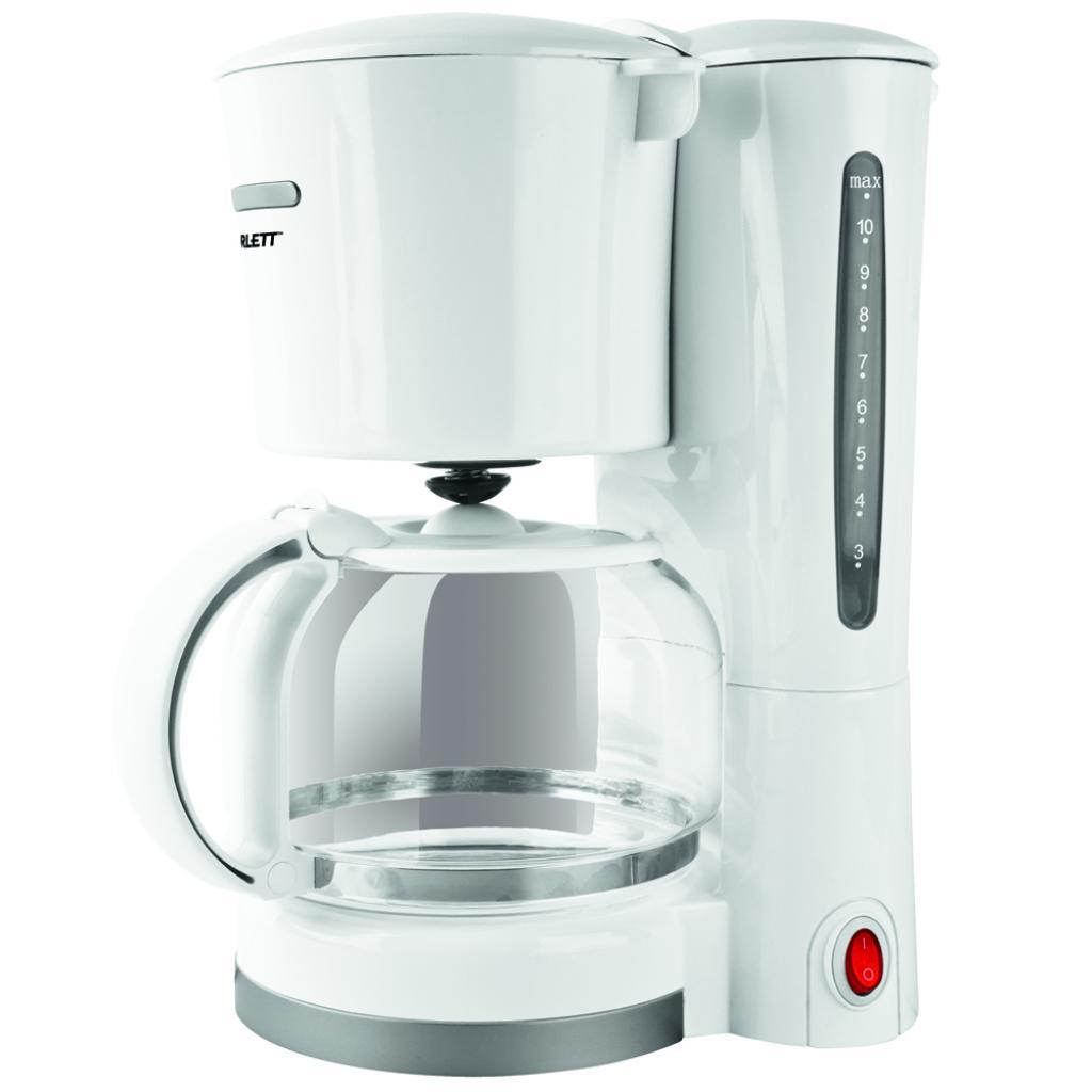 Кофеварка SCARLETT SC-033 white