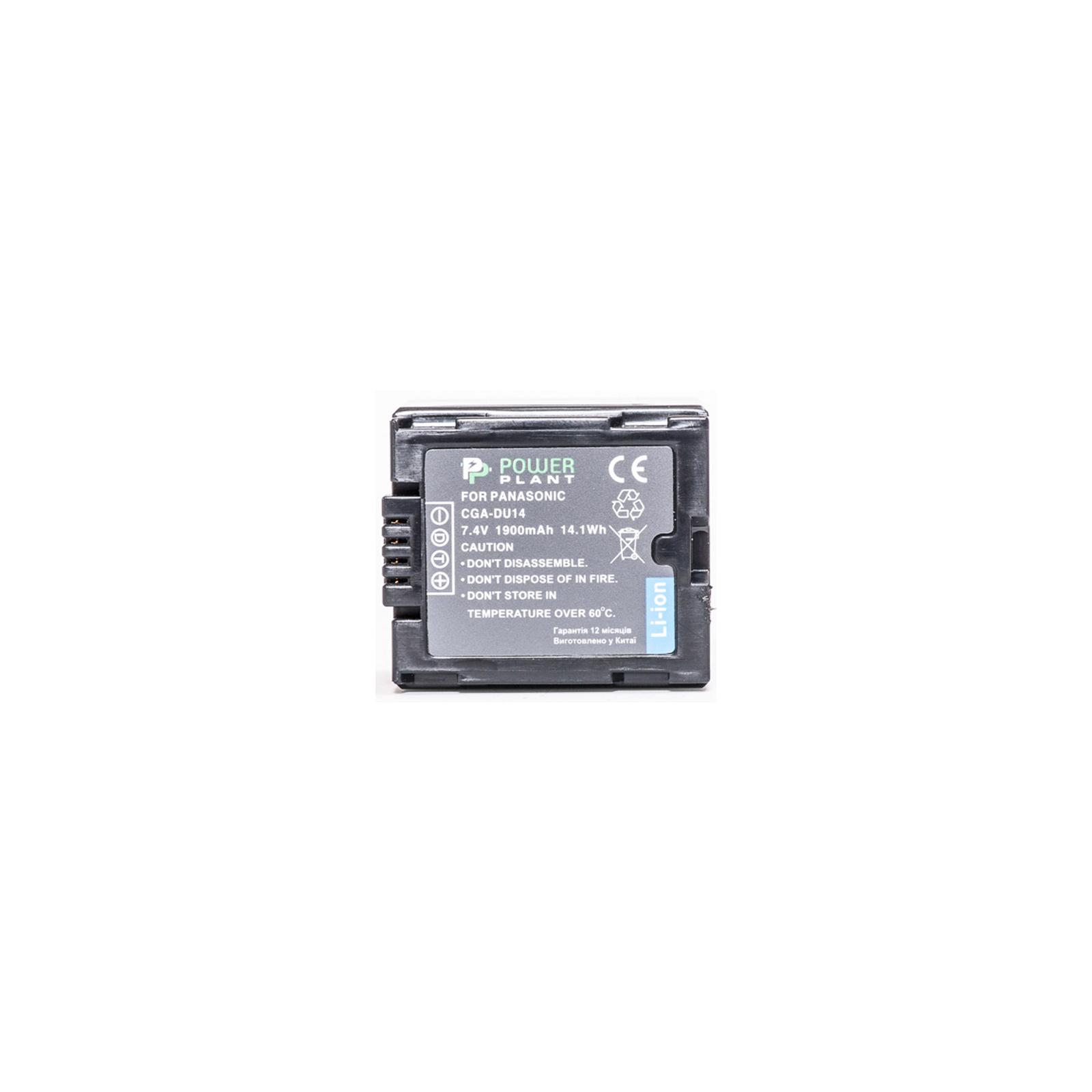Аккумулятор к фото/видео Panasonic CGA-DU14 PowerPlant (DV00DV1182) изображение 2